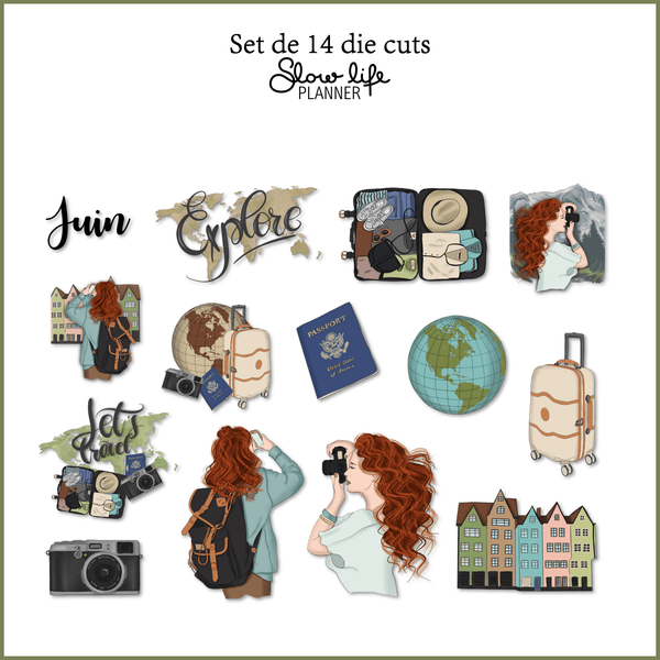 Slow Life Goodies Planner Box de Juin 2019