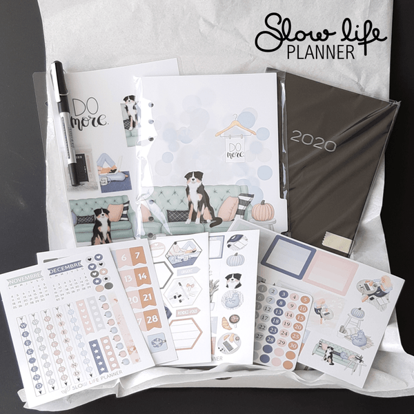 Slow Life Planner Box d'Avril
