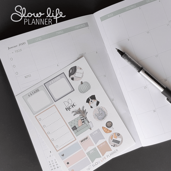 Goodies Planner Box de Février