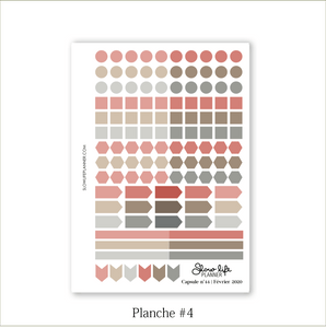 Stickers Box | Capsule n°44 / Février 2020 - Slow Life Planner