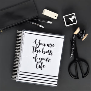 Planner Hebdomadaire 2020 - Personal - You are the boss - Slow Life Planner