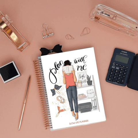 Carnet de comptes luxe Plan with me