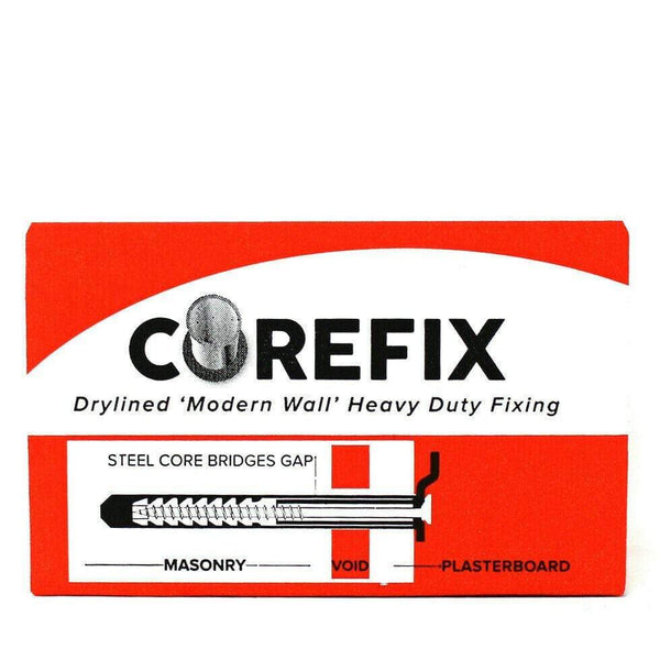 GRIPIT Fixings 8 GRIPIT COREFIX DOT & DAB HEAVY DUTY WALL FIXINGS DRYLINING CONCRETE BRICK BLOCK