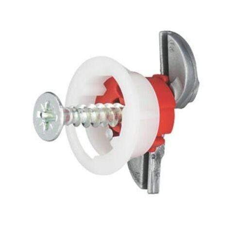 GripIt Wall Plugs 2 GRIPIT RED 18mm PLASTERBOARD FIXINGS