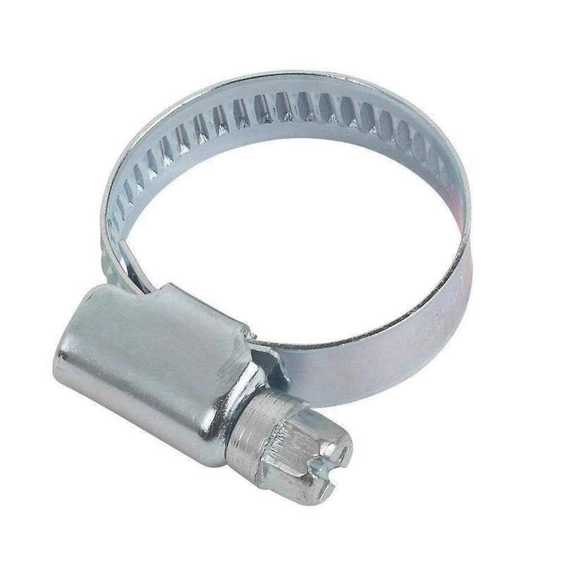 Jubilee Fasteners 18-25mm / 1 Steel Hose Clips Pipe Clamps All Sizes Jubilee Type BZP W1 DIN3017 Not Stainless