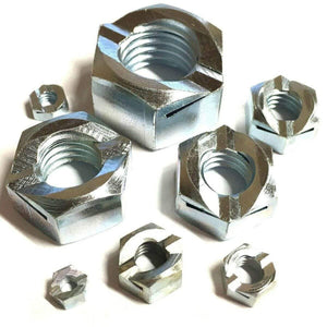 MultiScrew Fasteners M6 / 5 M6 Binx Nuts - Grade 5 Steel Zinc Plated - Self Locking 6mm Lock Nut BZP