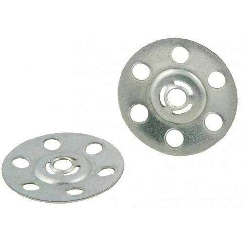 MultiScrew Fixings 10 35mm Metal Insulation Discs Washers Wall and Ceiling Fixings Plasterboard Repair