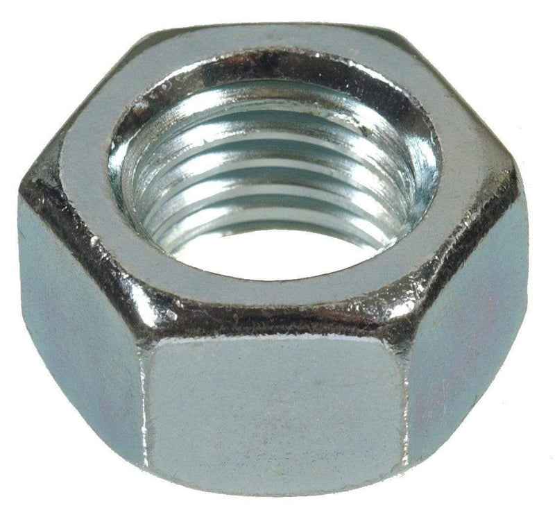 MultiScrew Fixings 10 PACK M16 HEXAGON HEX FULL NUTS ZINC BZP DIN934 STEEL NUT 16mm
