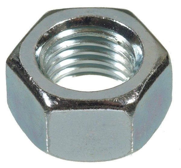 MultiScrew Fixings (10 PACK) M5 HEXAGON HEX FULL NUTS ZINC BZP DIN934 STEEL NUT 5mm