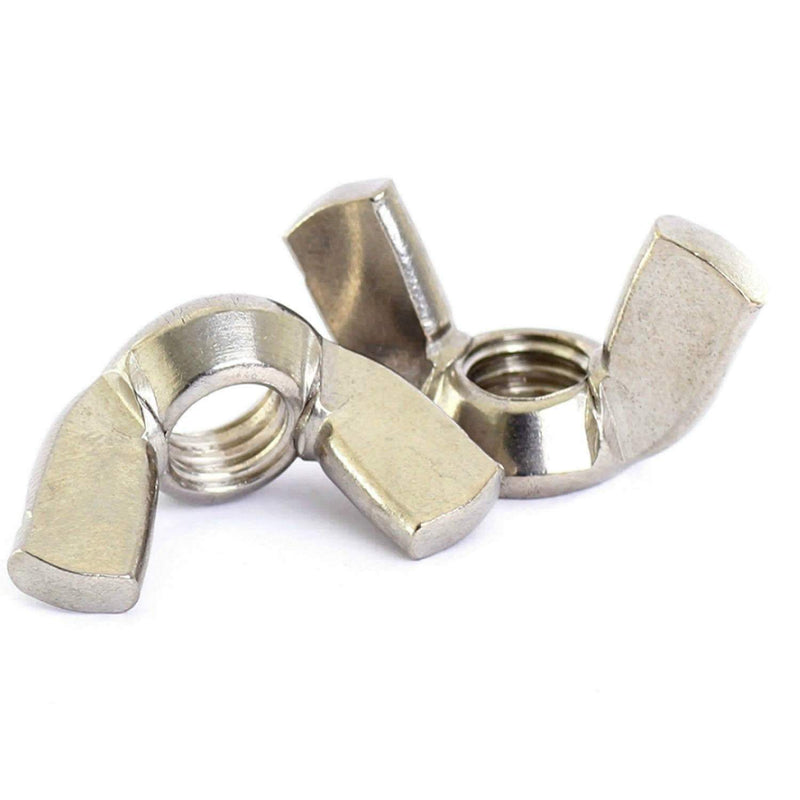 MultiScrew Fixings M3 / 5 Wing Nuts/ Butterfly Nut DIN315 A2 Stainless Steel