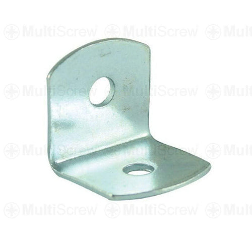 MultiScrew Home, Furniture & DIY:DIY Materials:Nails, Screws & Fasteners:Braces & Brackets 4 19MM RIGHT ANGLE BRACKET L SHAPE CORNER BRACE JOINT FIXING REPAIR METAL ZINC