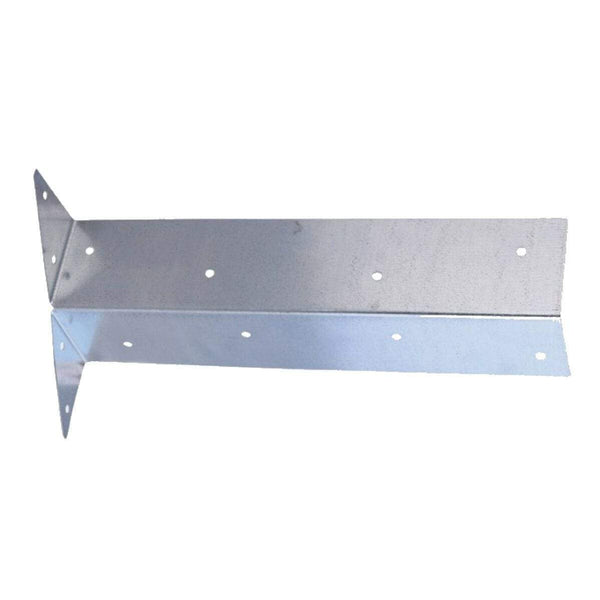 MultiScrew Ironmongery 1 Pack of 28 28 x ARRIS GALVANISED RAIL BRACKETS - 300mm - FENCE - FENCING - POST - SUPPORT