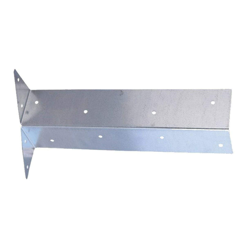 MultiScrew Ironmongery ARRIS RAIL GALVANISED BRACKETS - 300mm - FENCE - FENCING - POST SUPPORT BRACKET