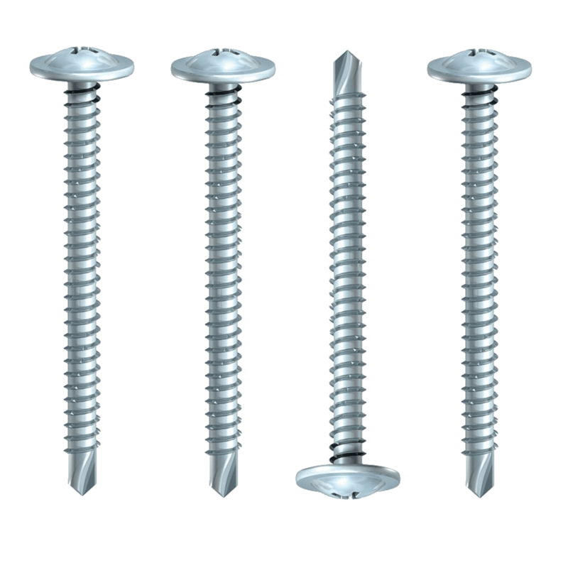 MultiScrew Screws 4.8mm x 40mm 200 BOX BAYPOLE SELF DRILL SCREWS 4.8MM x 40MM 50MM 60MM 70MM 80MM 90MM 100MM