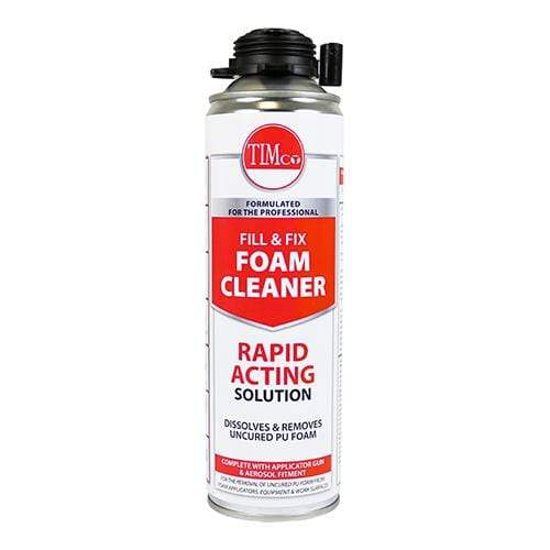 TIMCO Adhesives & Building Chemicals Fill & Fix PU Foam Cleaner  500ml PU Foam Cleaner - Universal
