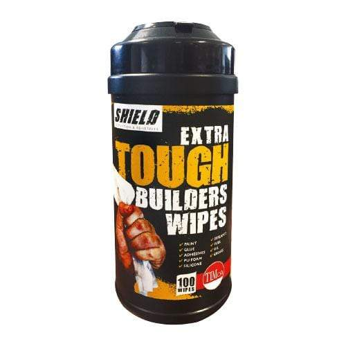 TIMCO Building Hardware & Site Protection Extra Tough Builders Wipes  100 Wipes Extra Tough Builders Wipes