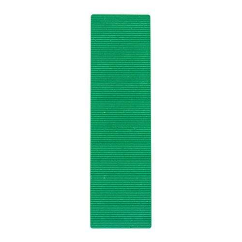 TIMCO Building Hardware & Site Protection Individual Packers - 28mm - 1.0mm - Green  100 x 28 x 1 Flat Packers - Green 1000pc