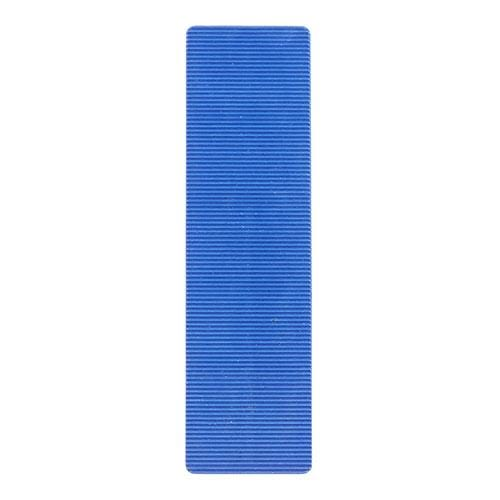 TIMCO Building Hardware & Site Protection Individual Packers - 28mm - 5.0mm - Blue  100 x 28 x 5 Flat Packers - Blue