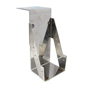 TIMCO Building Hardware & Site Protection Welded Masonry Joist Hangers - Stainless Steel  100 x 225 Masonry Hanger - Stainless