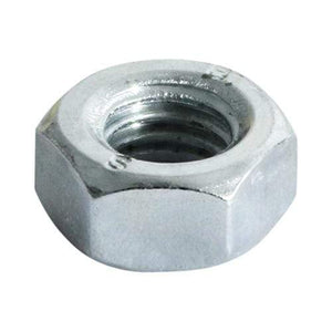 TIMCO Fasteners & Fixings Hex Full Nuts - Zinc  M8 Hex Nut DIN 934 - BZP