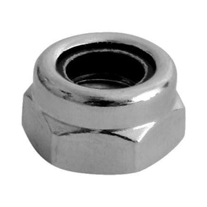TIMCO Fasteners & Fixings Nylon Nuts - Type T - Stainless Steel  M5 T Nylon Nut DIN 985 - A2 SS