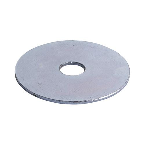 TIMCO Fasteners & Fixings Penny / Repair Washers - Zinc  M8 x 25 Penny / Repair Washer - BZP