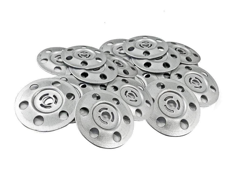 Timco Fixings 100 Pack 35mm Metal Insulation Discs Washers Wall Ceiling Fixings Plasterboard