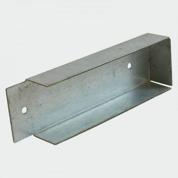 Timco Ironmongery 1 Clip GRAVEL BOARD CLIPS 25mm x 150mm x 30mm FENCING PANELS BRACKET FENCE GARDEN POST