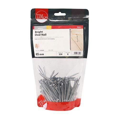 TIMCO Nails Oval Nails - Bright  65mm Oval Nail - Bright