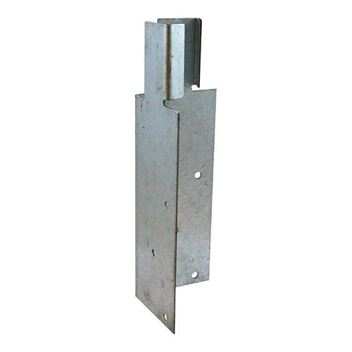 TIMCO Security & Ironmongery Arris Rail Mortice Brackets - Galvanised  200 x 62 x 62 Arris Rail MorticeBracket Galv