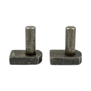 TIMCO Security & Ironmongery Gate Hooks to Weld - Self Coloured  12mm Gate Hooks to Weld