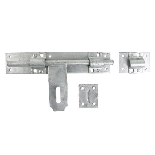 TIMCO Security & Ironmongery Heavy Cross Pattern Door Bolt - Hot Dipped Galvanised  24