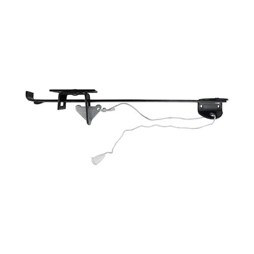"TIMCO Security & Ironmongery Junior Garage Door Holder - Wide Lintel - Black  15"" Junior Garage Door Holder"