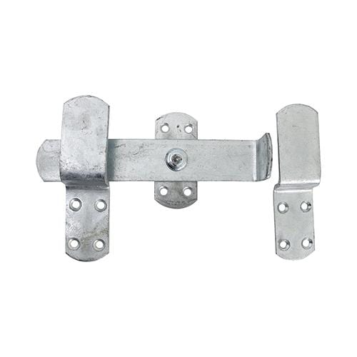 TIMCO Security & Ironmongery Kick Over Stable Latch - Hot Dipped Galvanised  240mm Kick Over Stable Latch HDG