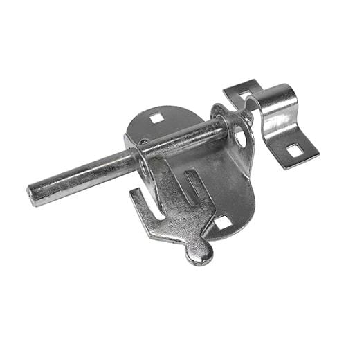 TIMCO Security & Ironmongery Oval Padbolt - Zinc  4