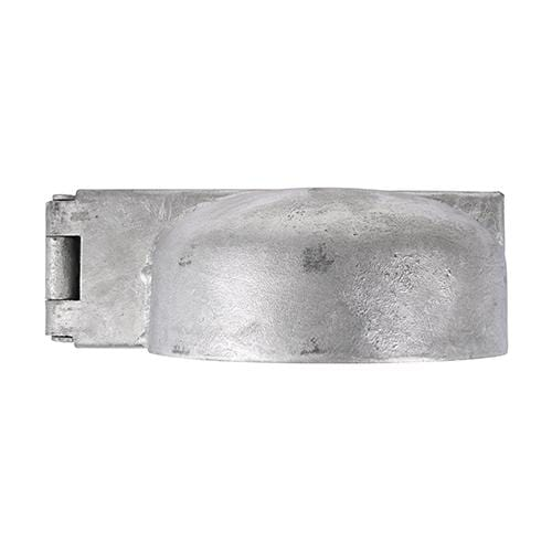 TIMCO Security & Ironmongery Padlock Protection Bar - Heavy Duty - Left - Hot Dipped Galvanised  7.5