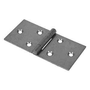 TIMCO Security & Ironmongery Pair of Backflap Hinges - Uncranked - Steel - Self Colour  50 x 106 404 B/flap Hinge - Self Col.
