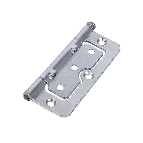 TIMCO Security & Ironmongery Pair of Hurlinge Hinges - Loose Pin - Steel - Zinc  100 x 66 104Z L/P Hurlinge - BZP