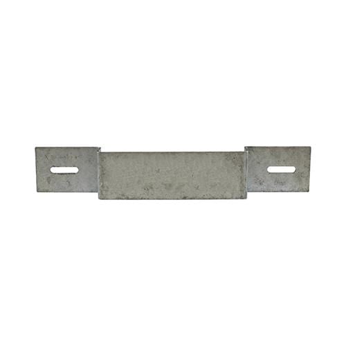 TIMCO Security & Ironmongery Panel Security Brackets - Galvanised  233 x 40 Panel Security Bracket Galv
