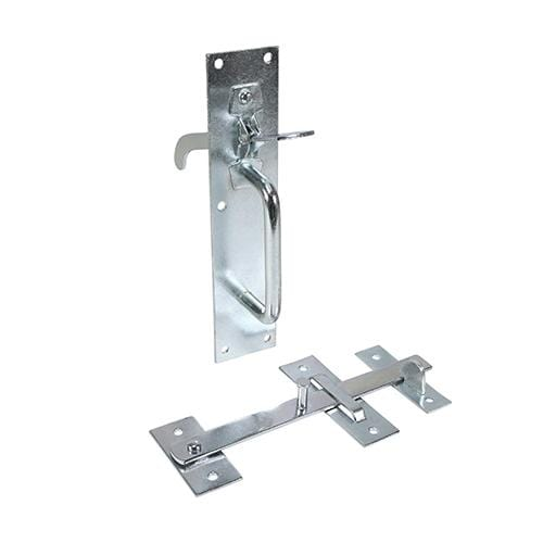 TIMCO Security & Ironmongery Suffolk Latch - Medium Duty - Zinc  205 x 45mm Medium Suffolk Latch Zinc