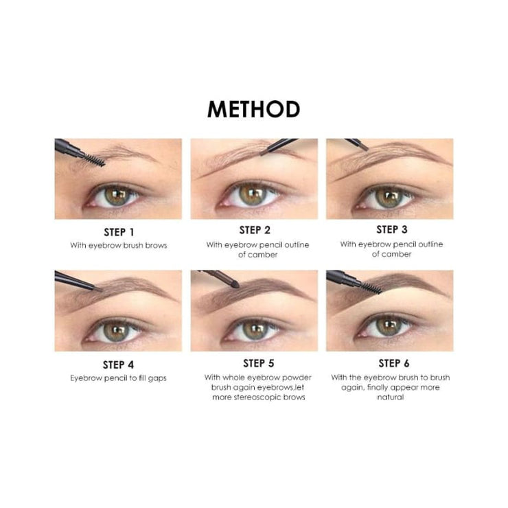 3 In 1 Waterproof Eye Pencil