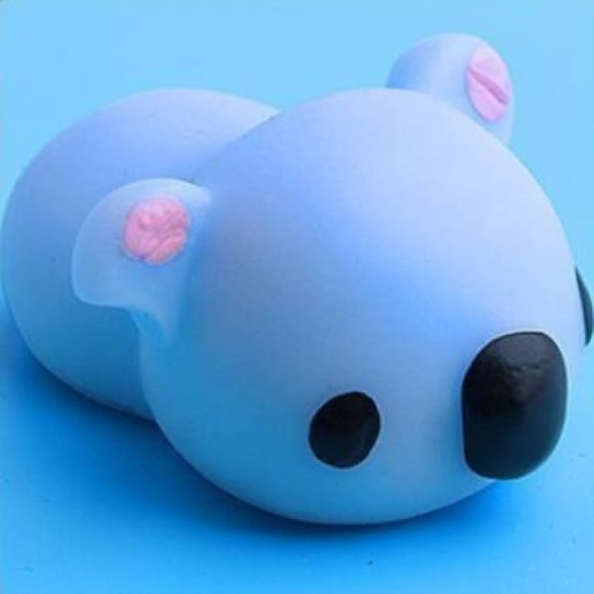 Adorable! Anti Stress Color Change Squishy Pets! - Blue Koala