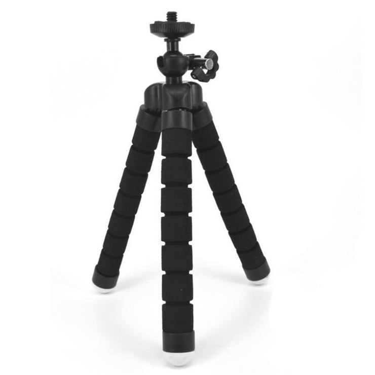 Attach Anywhere - Flexible Smartphone Tripod Awesome For Influencers! - Black