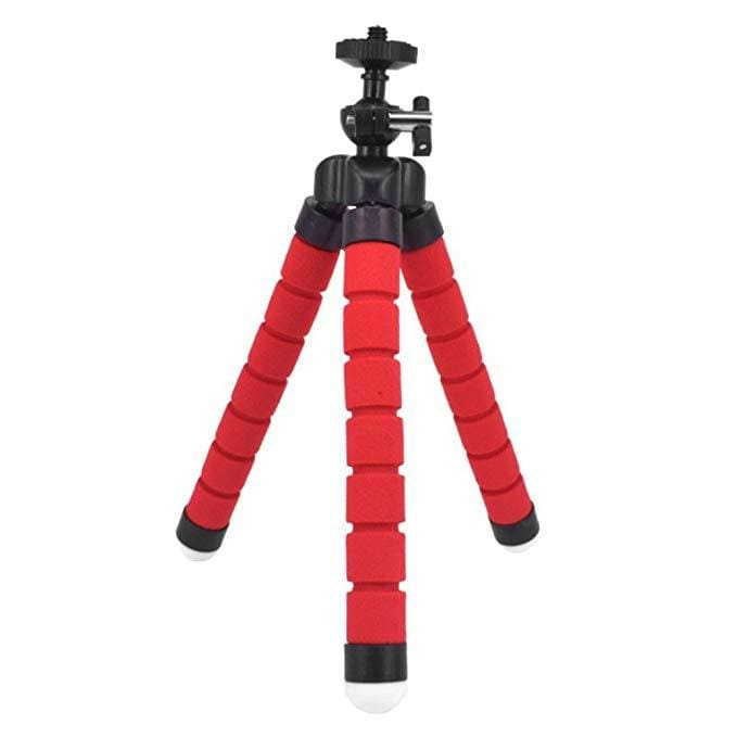 Attach Anywhere - Flexible Smartphone Tripod Awesome For Influencers! - Red