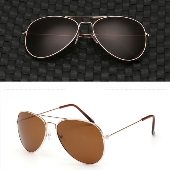 Free Giveaway - Top Gun Aviators - Brown