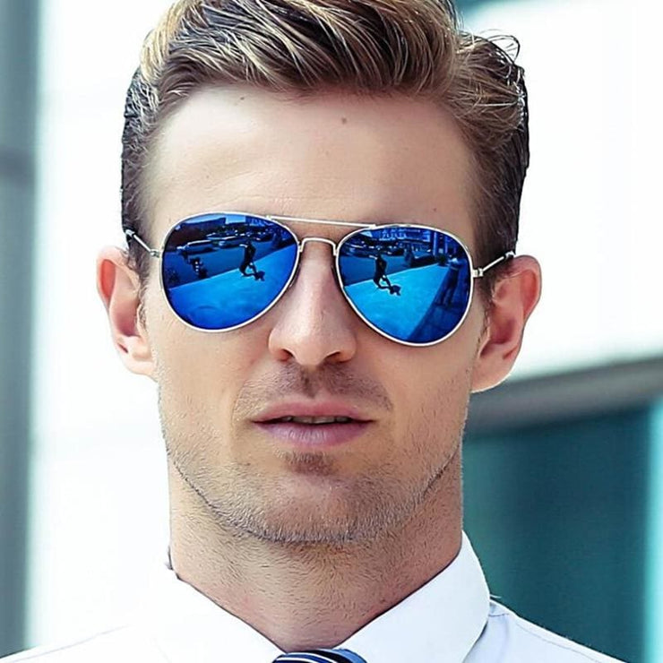 Free Giveaway - Top Gun Aviators - Gold-Blue