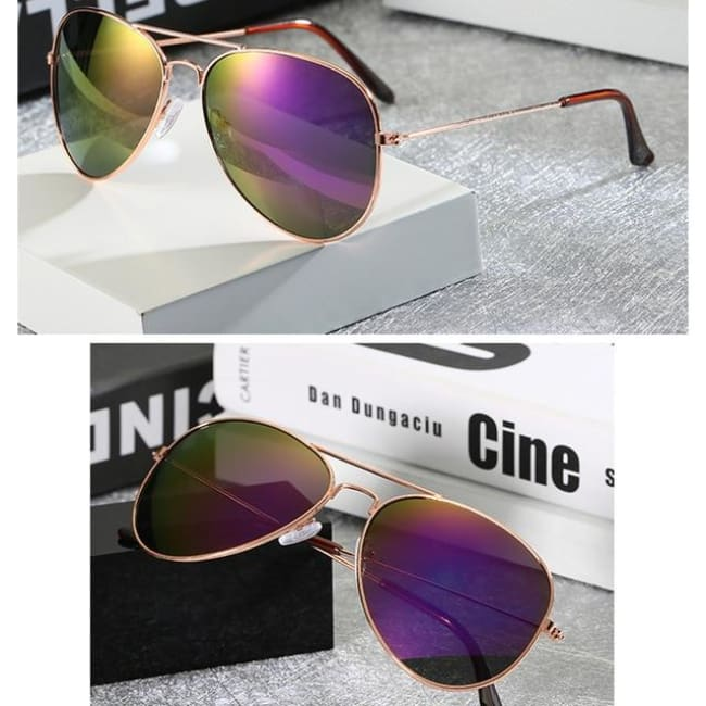 Free Giveaway - Top Gun Aviators - Purple