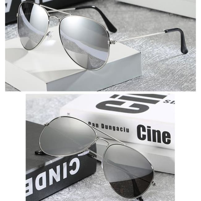 Free Giveaway - Top Gun Aviators - Silver