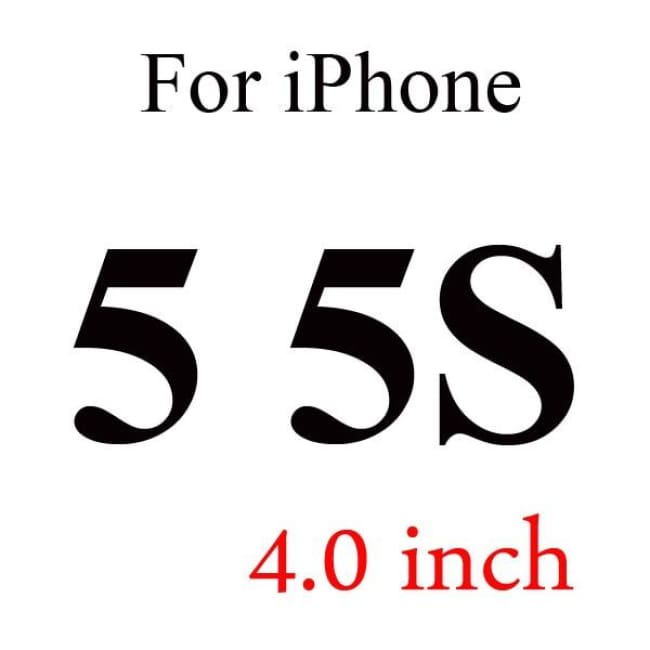 Ultra-Thin Iphone Screen Protector Panel - For Iphone 5 5S