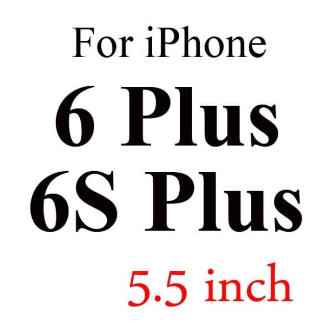 Ultra-Thin Iphone Screen Protector Panel - For 6Plus 6S Plus